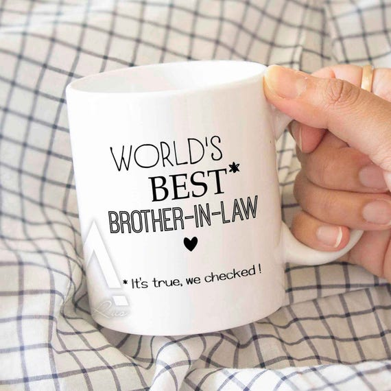 Brother in law mug Christmas gifts for in laws | Etsy