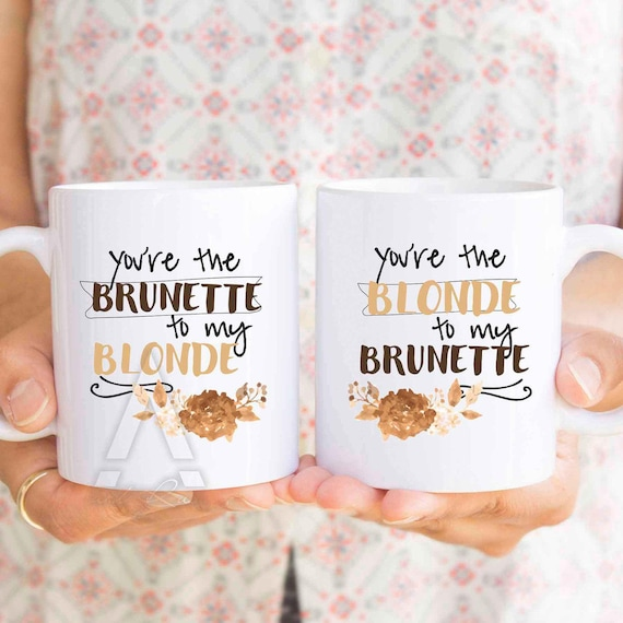 image 0 - Best Friend Christmas Gift You Are The Brunette To My Etsy