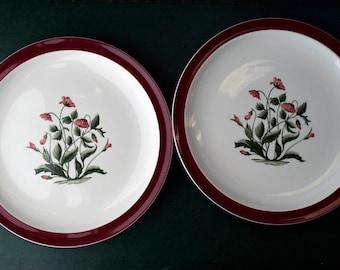 Mayfield English pottery vintage dinnerware Made in England Bone China china replacement Vintage Aynsley Dinner Plates