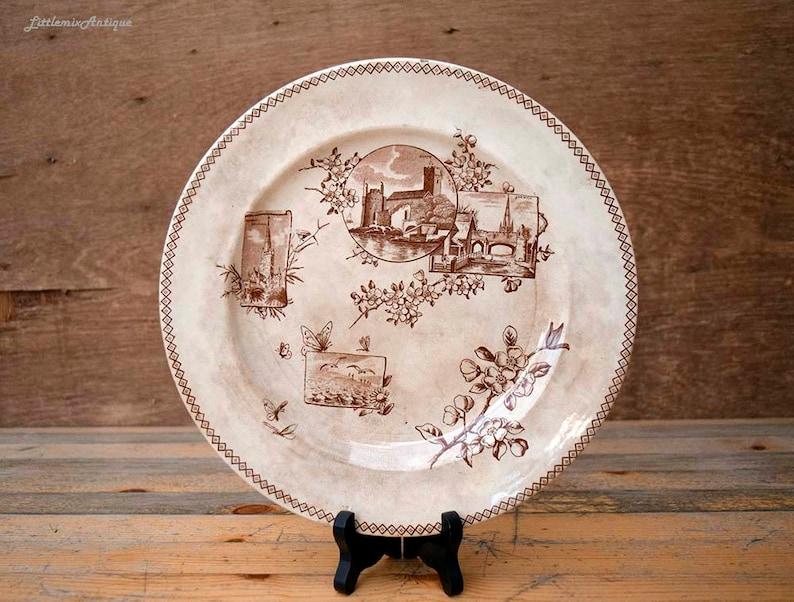Ceramics & Porcelain Delicious Antique West End Pottery Co Transferware Dish Bowl Covered