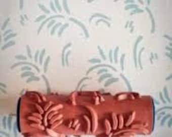 Fern leaf - Patterned paint roller