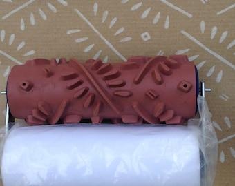 Bottlebrush - Patterned paint roller