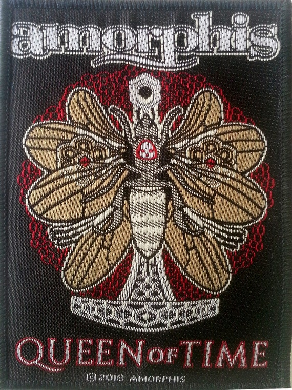 Amorphis - Queen of Time Patch 7cm x 10cm