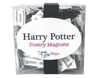 Wizard School Poetry Magnets / Refrigerator Magnet / Witch Wizard Quotes / Wizard Magic School / Wizard Fandom Gift