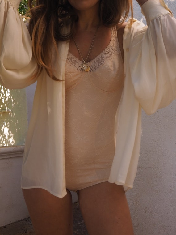 VINTAGE BLUSH BODYSUIT