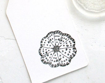 Urchin rubber stamp