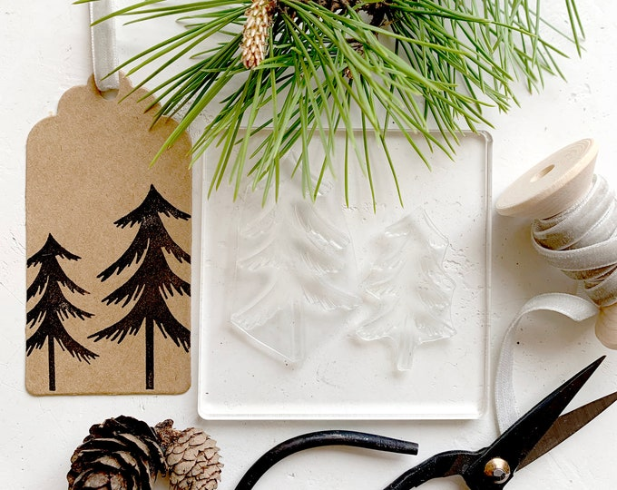 Forest Trees Stamp Set