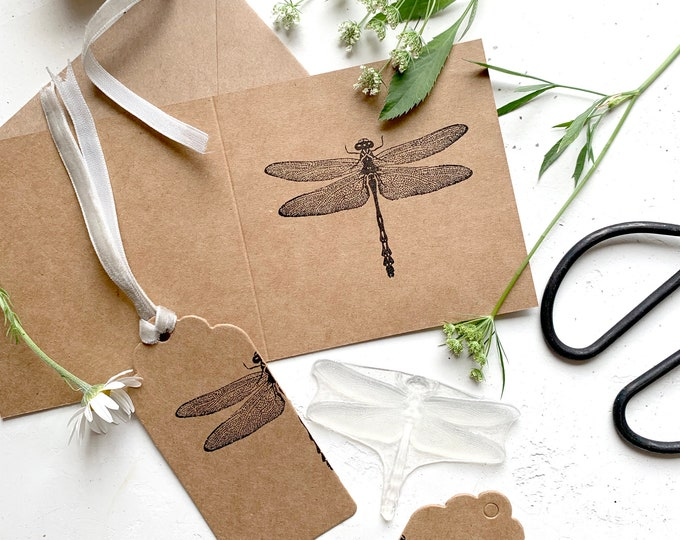 Dragonfly Rubber Stamp