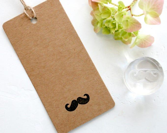 Moustache Rubber Stamp