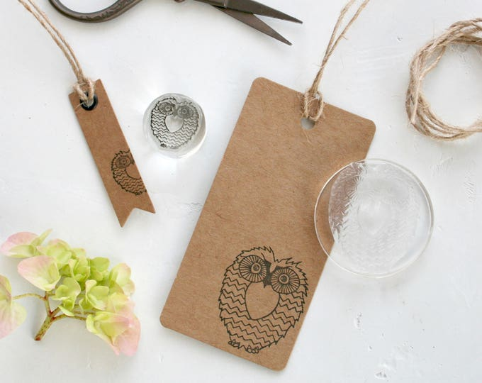 Owl Rubber Stamps