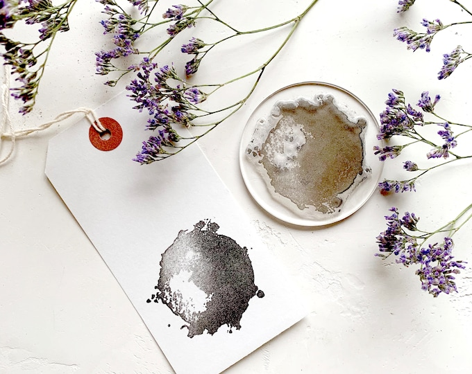 Watercolour Splash Rubber Stamp