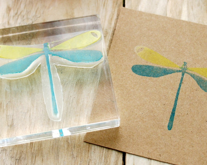Mayfly Rubber Stamp