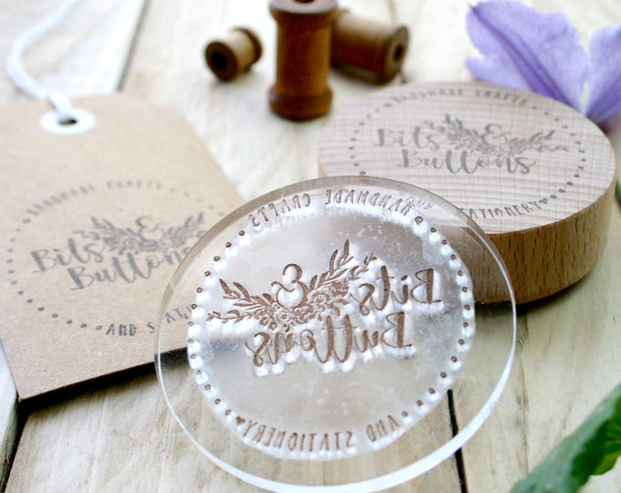 With Compliments Slip Rubber Stamp
