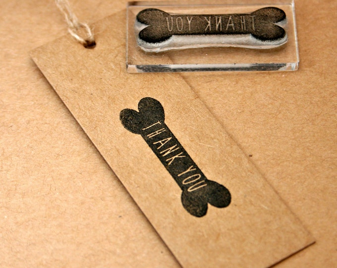 Dog Thank You Rubber Stamp