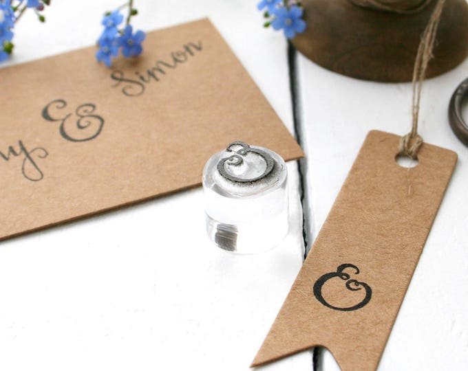 Ampersand Rubber Stamp