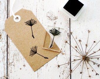 Dandelion Rubber Stamp