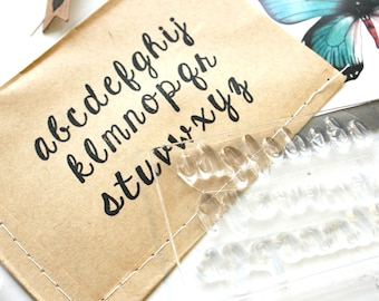 Alphabet Rubber Stamps