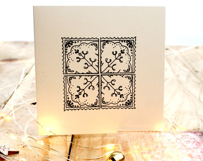 Mistletoe Tile Stamp