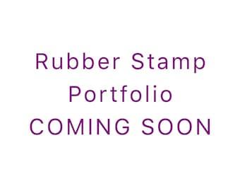 Rubber Stamp Storage Folder