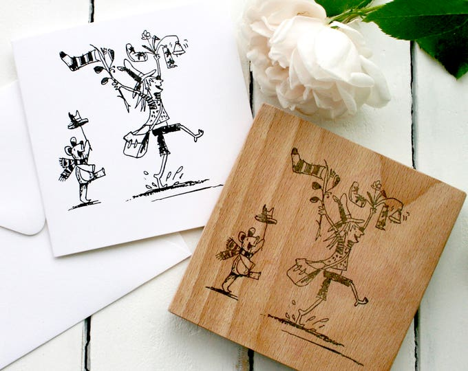 Illustrators Clear Rubber Stamp