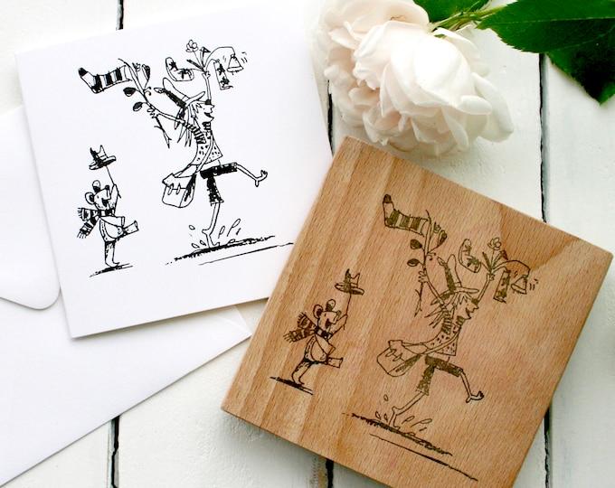 Illustrators Rubber Stamp