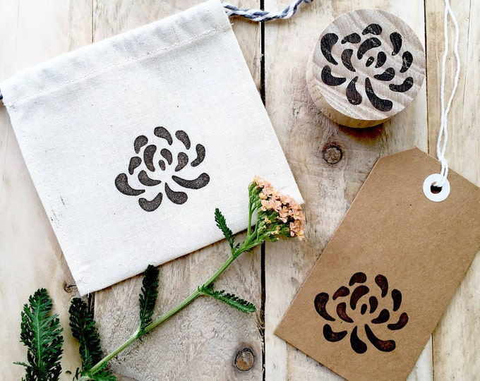 Washi Paper Flower Stamp
