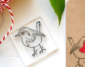 Robin Rubber Stamp