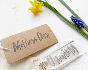 Mothers Day Rubber Stamp