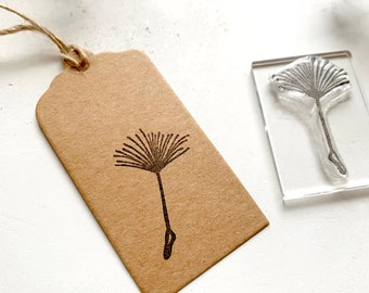 Dandelion Rubber Stamp