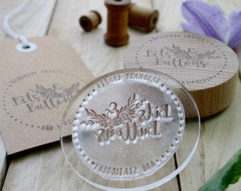 Address Rubber Stamp