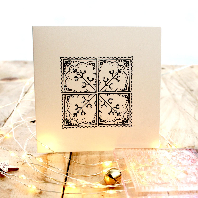 Mistletoe Tile Stamp