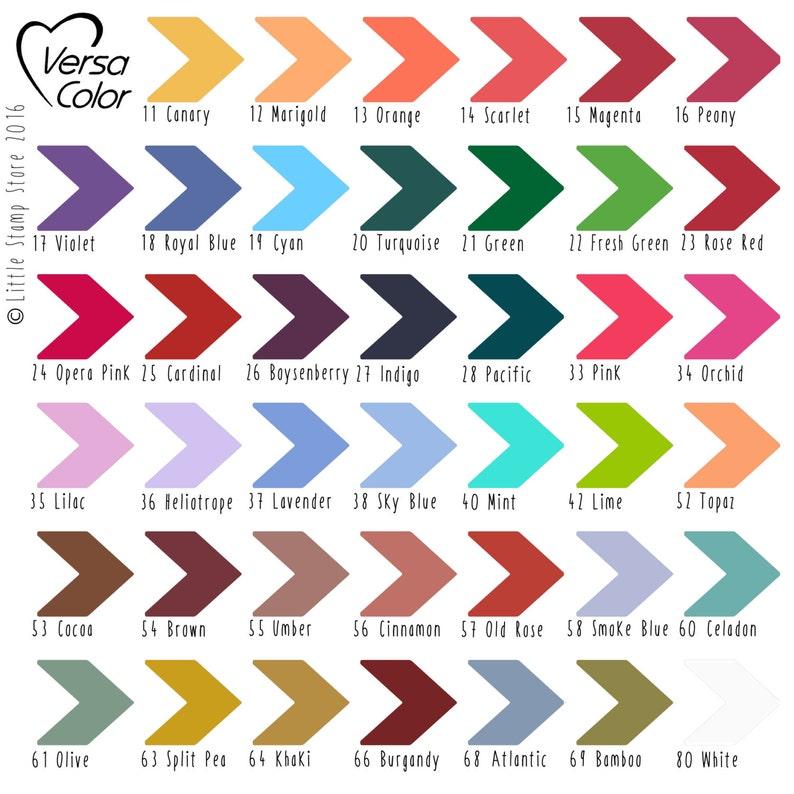 Versa Color Ink Pad  Ink Pads  Ink Pad  Craft Inks  Versa image 0