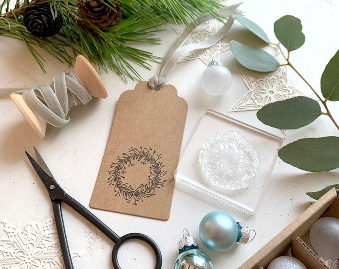 Botanical Christmas Wreath