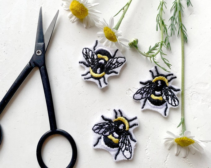 Bee Sew On Patch