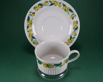 Coffee - Deck 2piece Villeroy & Boch - Yellow Plum