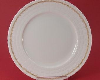 Cake Plate / Dessert Teller Hutschenreuther - Lucina Astarte Goldranke