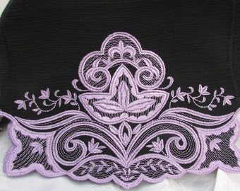 FS-010 Embroidered Scarf