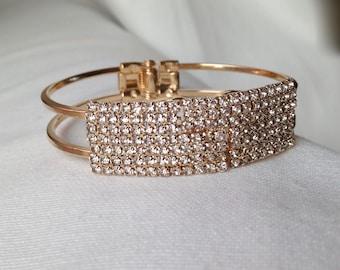 Gift Wedding Bracelet, Cuff Bracelet, Bridal Bracelet, Wedding Jewelry, Bridesmaids Jewellery, Bridal Accessories READY TO SHIP