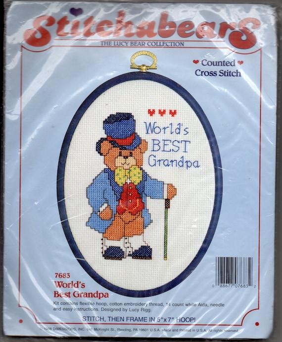 Vintage Cross-Stitch Kit
