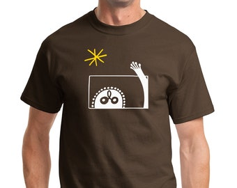 At the Window T-shirt Men Short Sleeve