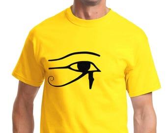 The Eye of Horus T-shirt Men Short Sleeve