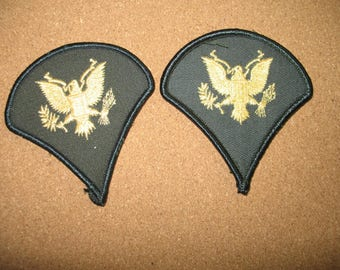 Items similar to Army Patches, Set of 5 Badges, Military