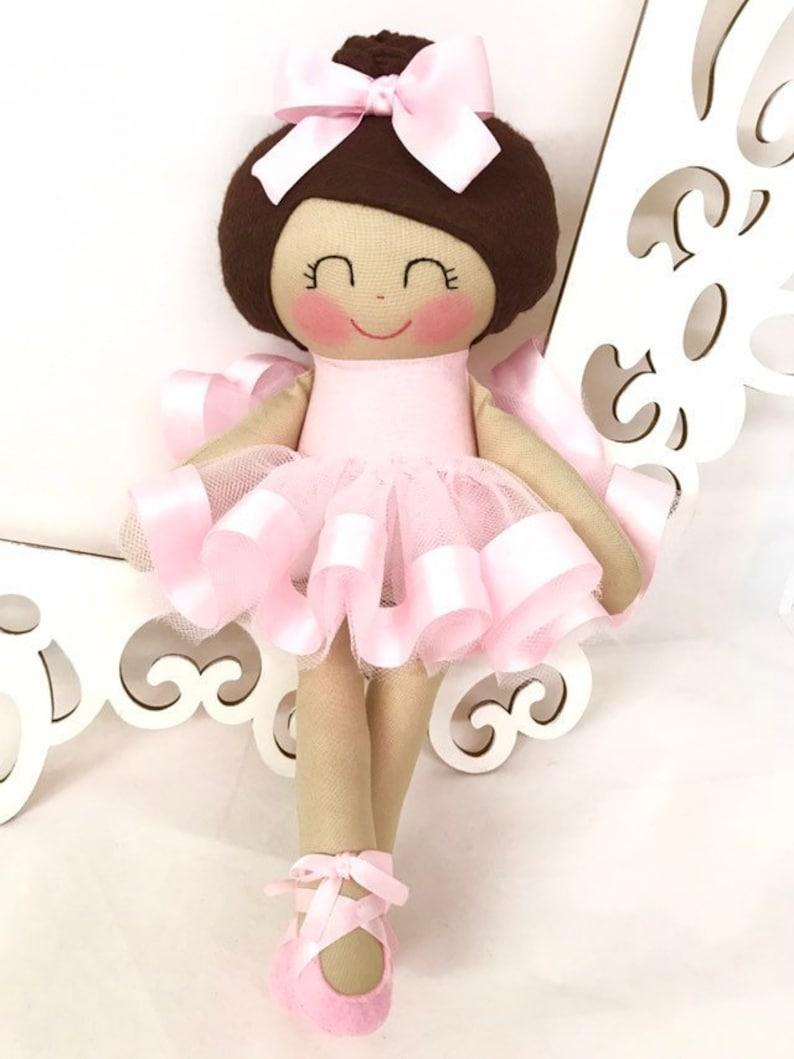 Doll Ballerina Handmade Doll Dance Ballerina Doll image 0