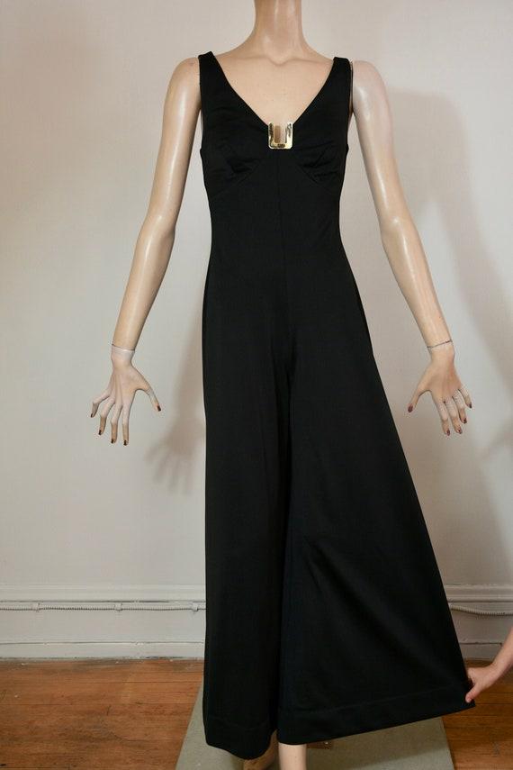 vintage 60s jumpsuit, palazzo jumpsuit, palazzo pa