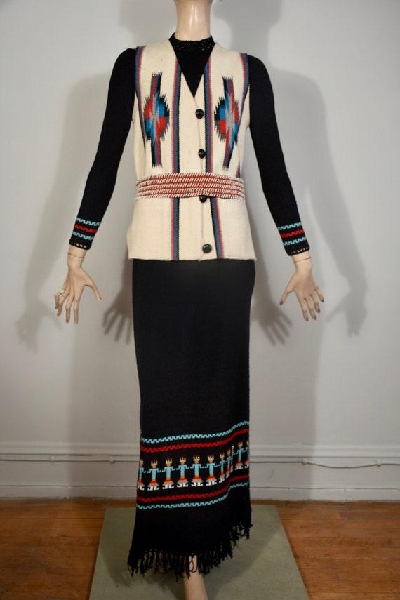 vintage Chimayo, Chimayo vest, ortegas chimayo, wo
