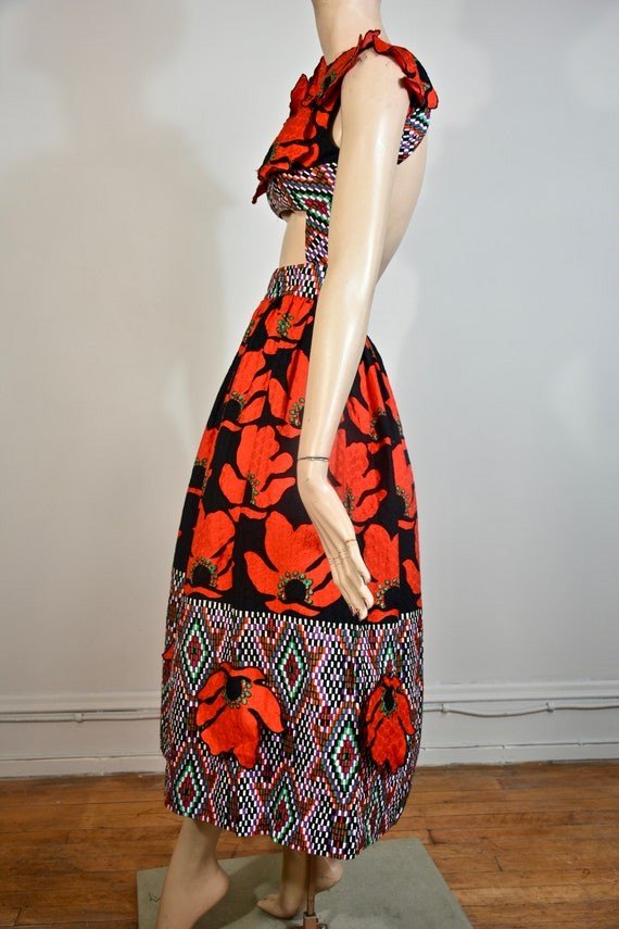 DONALD BROOKS dress, 60s dress, 60s maxi dress, 7… - image 3