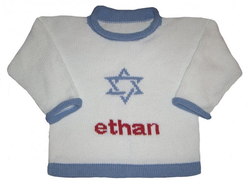 Personalized Hannukah Sweater for Children image 0
