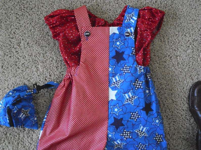 Toddler Romper and blouse   Plan a circus birthday party  family fun during covid 19 overalls  triangle coin purse OOAK Halloween costume