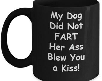 funny dog mug dog owner gift ideas funny dog coffee mug dog etsy