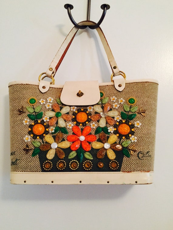 Enid Collins Flower Basket Puse